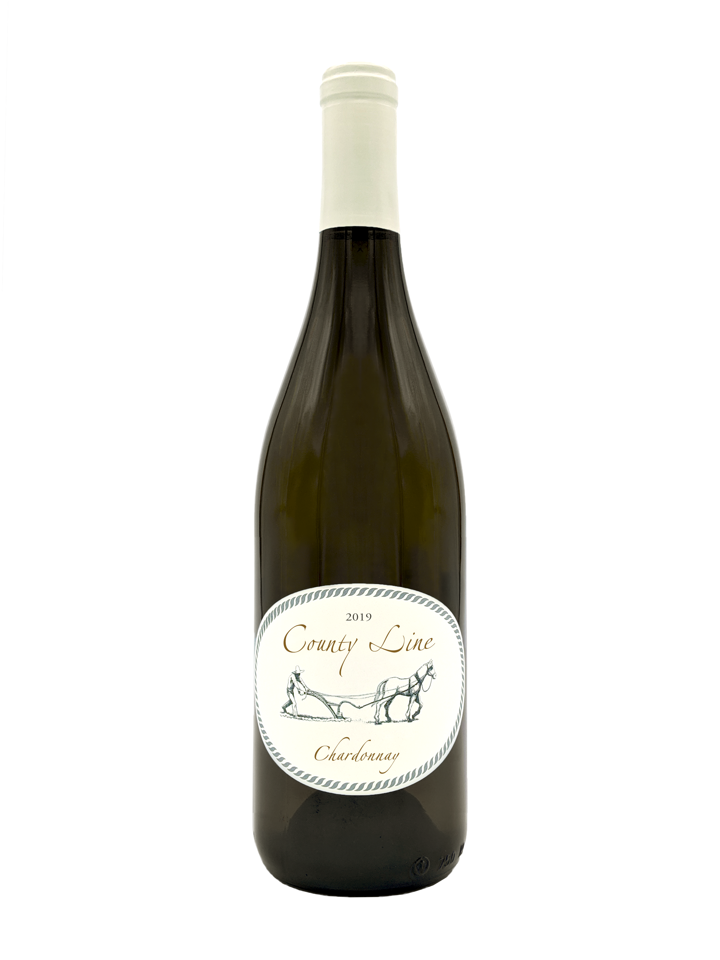 2019 county line chardonnay bottle